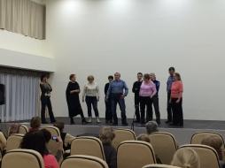 Мастер-класс по хоровому народному пению